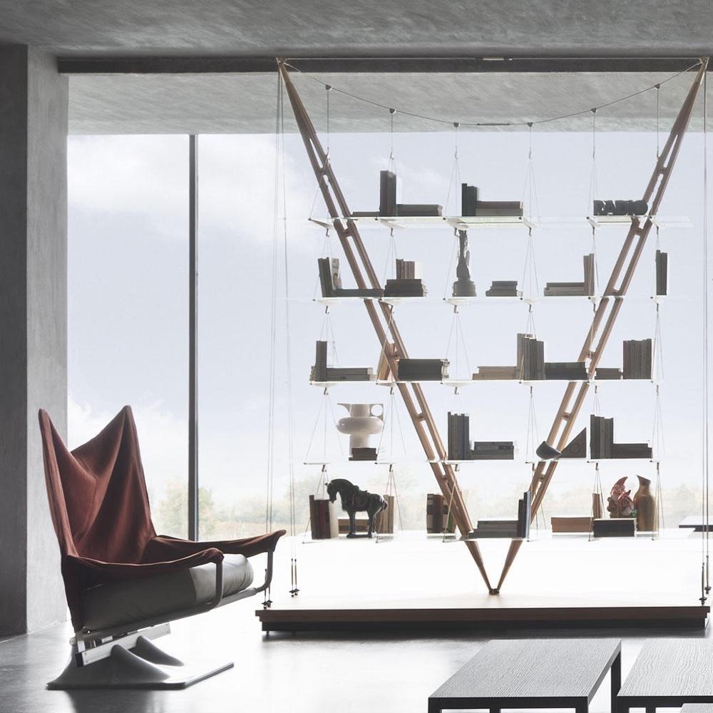 838 Veliero bookcase