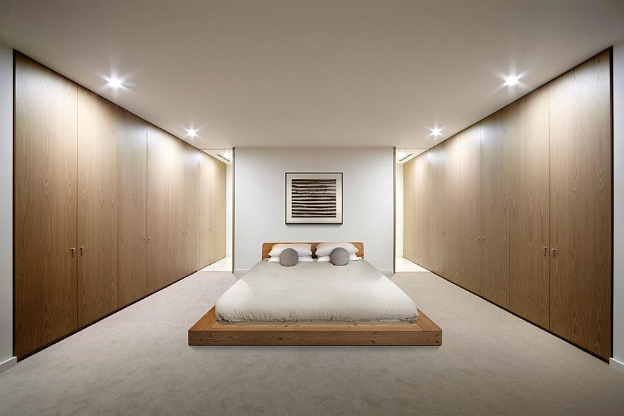 20 serenely stylish modern zen bedrooms for Meuble japonais futon