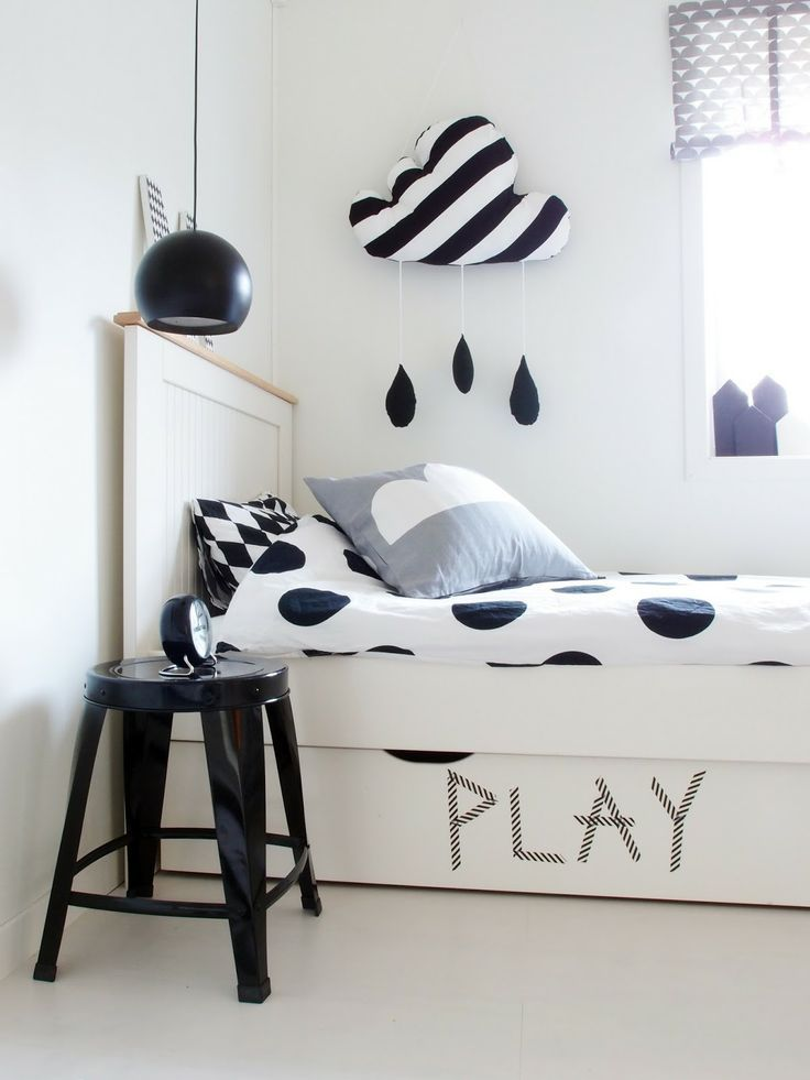 15 soothing bedrooms that take inspiration from the clouds - Kids room decoration ...
