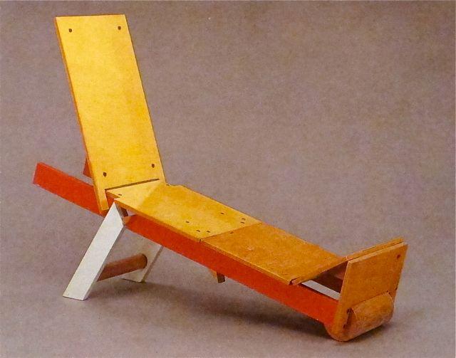 Andrea Branzi Beach Lounge Chair