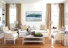 Artsy SoHo style combined with shabby chic overtones [Design: Lisa K. Tharp - K. Tharp Design]