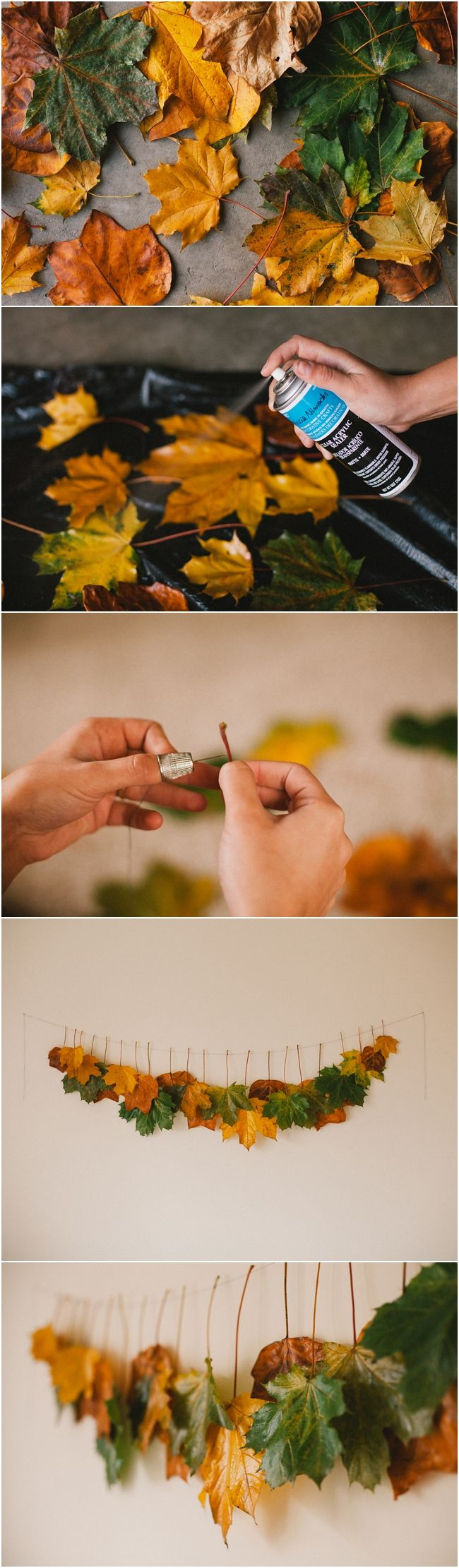 8 Creative DIY Project Ideas for Using Fall Leaves as