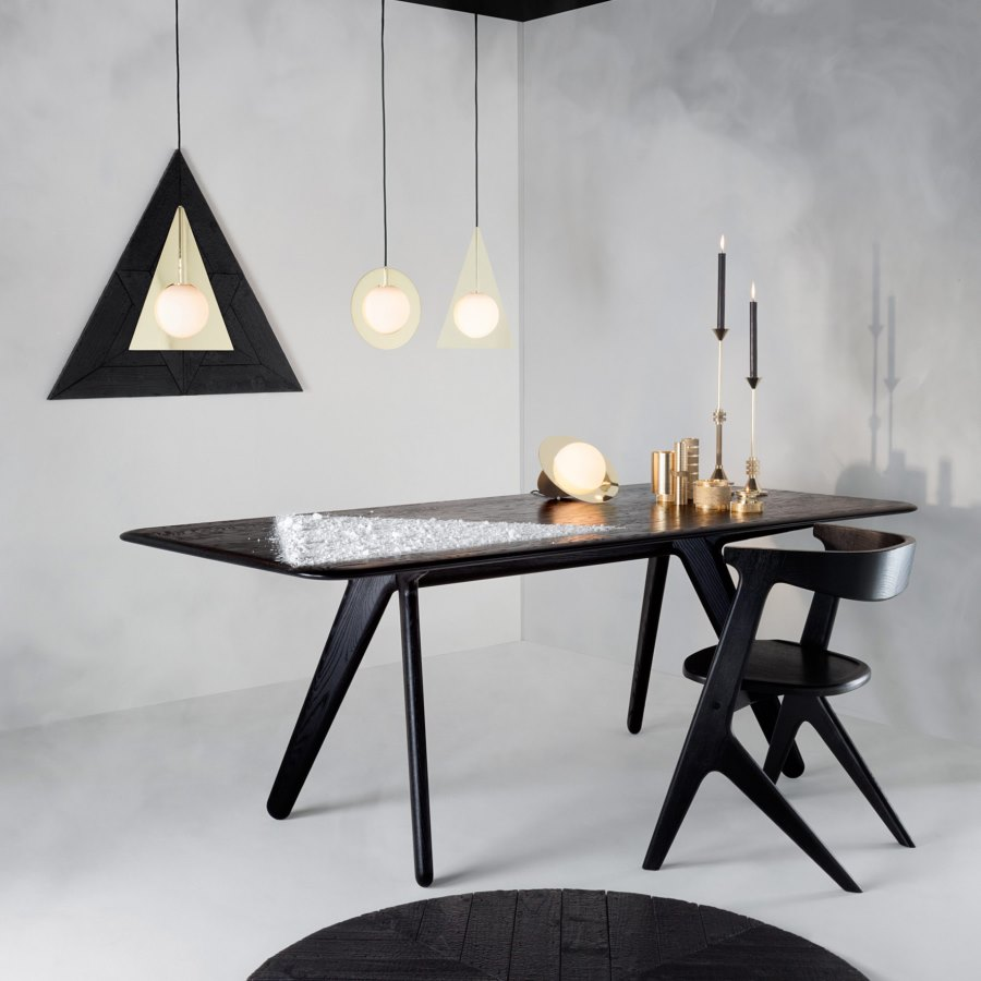 Black Bench For Dining Table: 20 High End Dining Tables For Stylish Homes