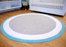 Blue rug from Spot on Square