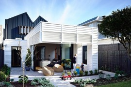 Trendy Rear Extension Revitalizes Classy Double-Fronted Auckland Cottage