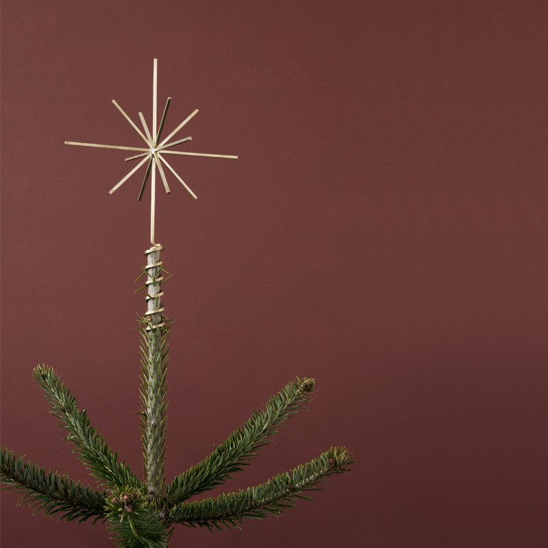 Brass Christmas star from ferm LIVING