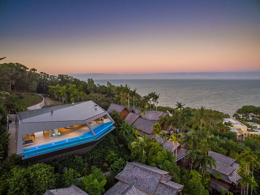 Breathtaking catilevered design of the Edge steals the show in this Port Douglas neighborhood