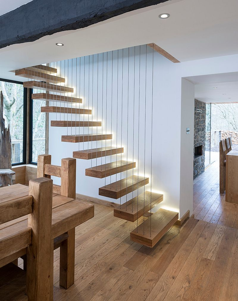 Brilliant Staircase With Solid American