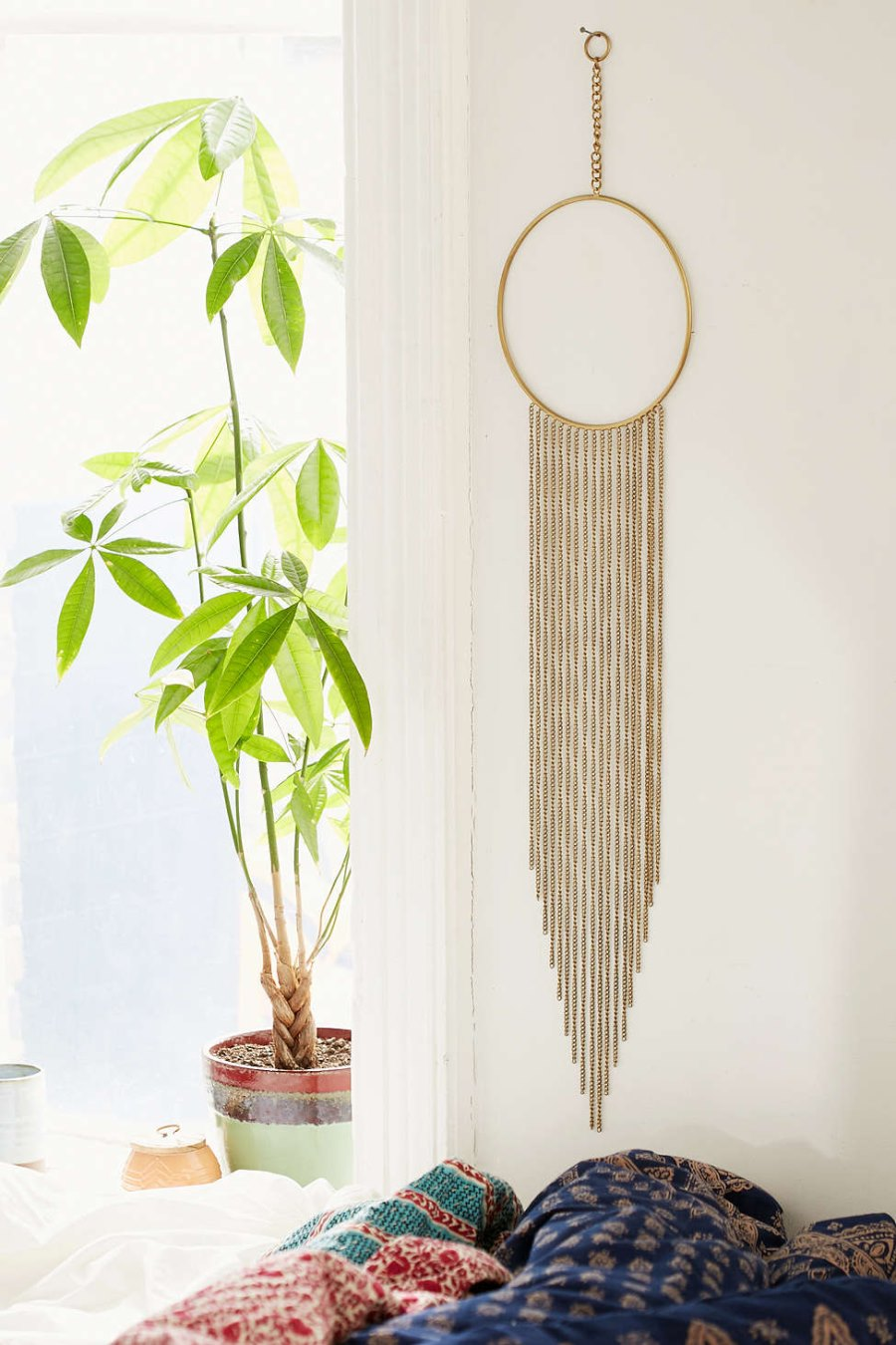 Bronze wall hanging from Urban Outfitters
