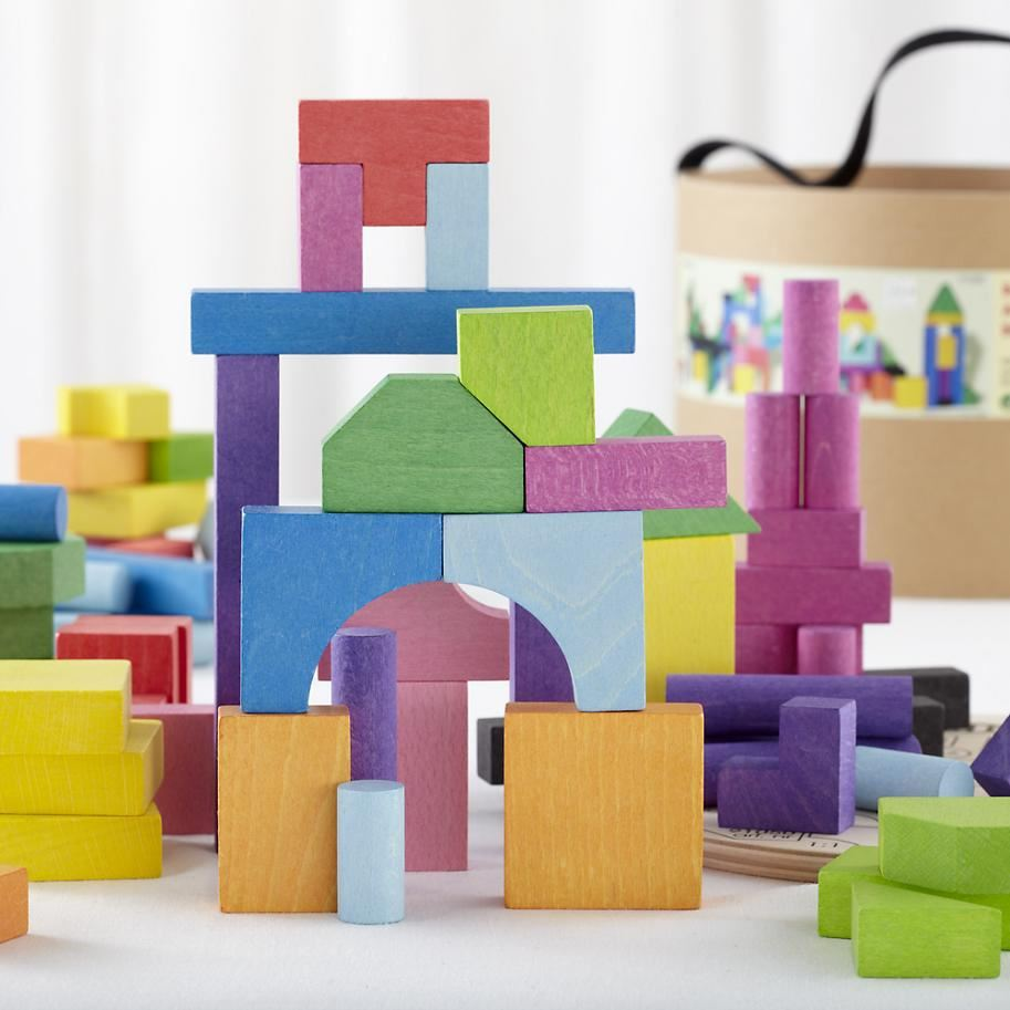 Bucket of blocks from The Land of Nod