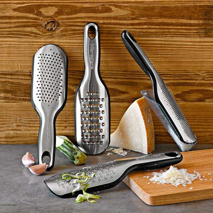 Cheese graters from Williams-Sonoma