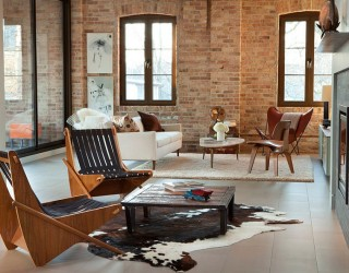 100 Living Rooms with Stunning Brick Walls