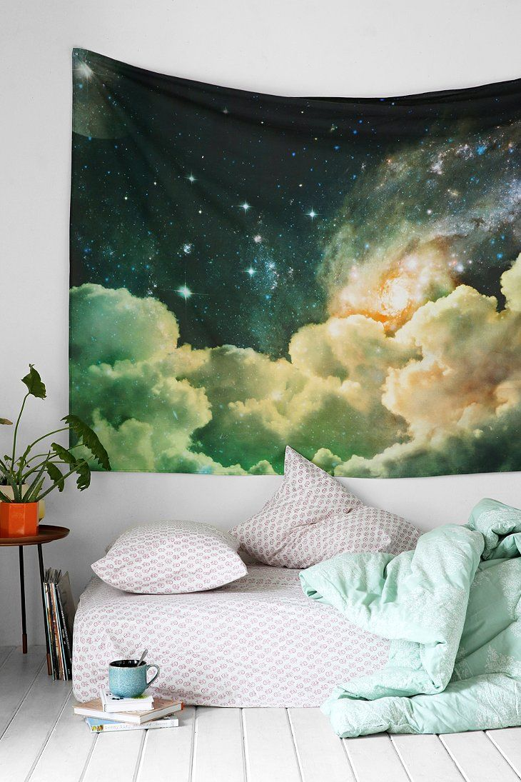 Cloud and cosmos tapestry from Urban Outfitters