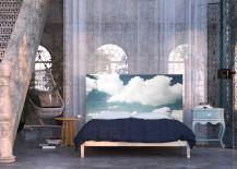 Cloud headboard by Astrid Oyo