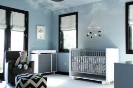 Cloud-themed nursery