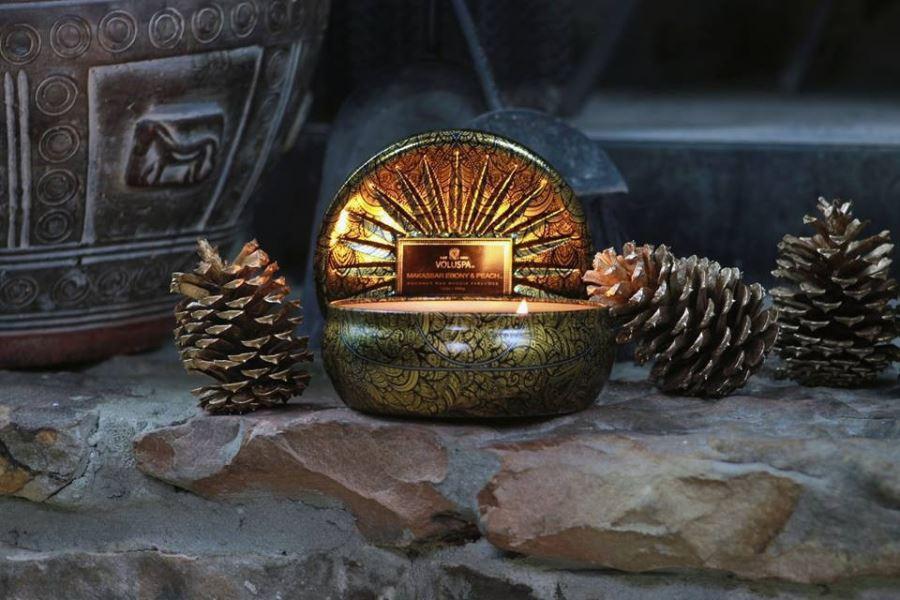 Coconut wax candle by Voluspa
