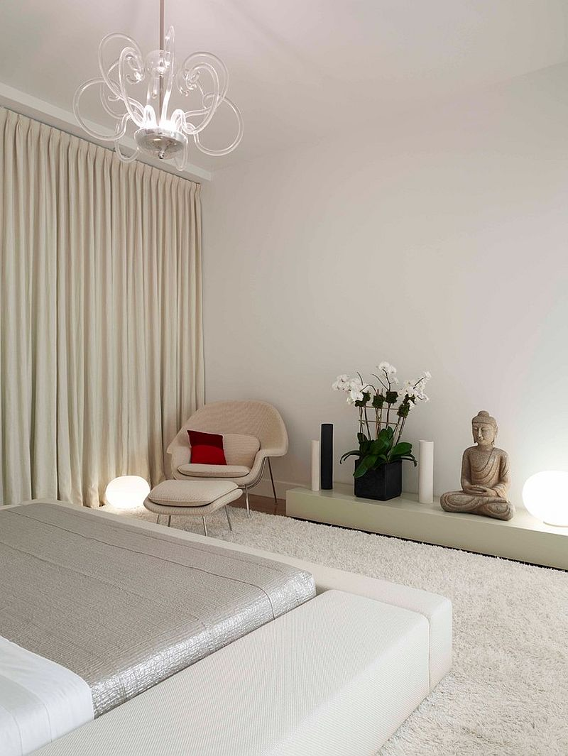 Contemporary-Zen bedroom style is an absolute showstopper