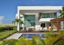 Contemporary beach house in Bahia Brazil 217x155 Beach House: Reinventing the Nautical Theme with Contemporary Panache
