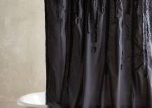 Cotton luxury shower curtain from Anthropologie