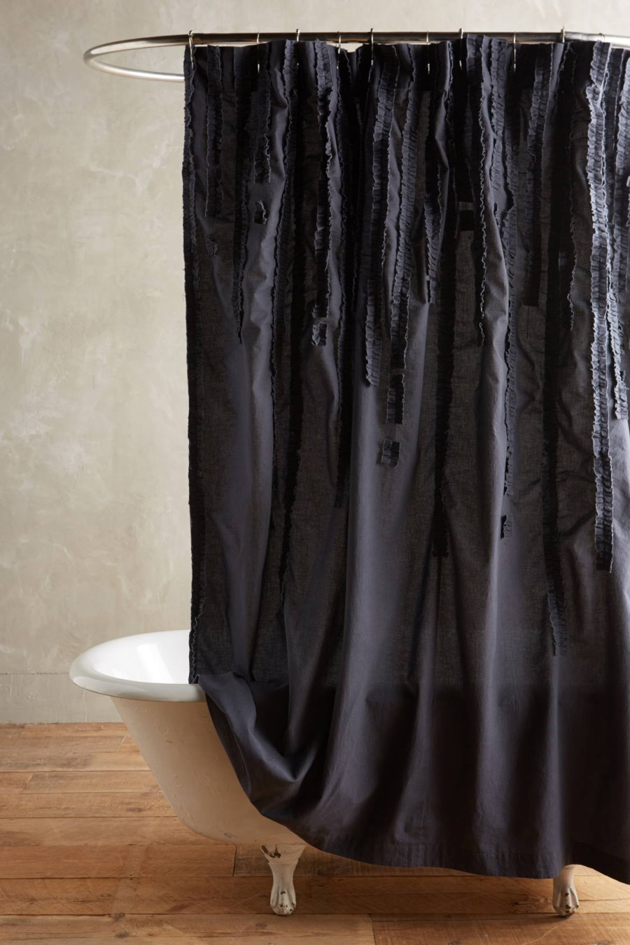 Cotton shower curtain from Anthropologie