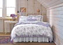 Cozy shabby chic bedroom idea