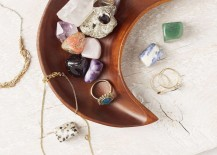 Crescent moon dish from Urban Outfitters