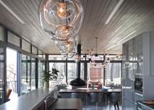 Custom Bubble pendants and Bubble chandelier 217x155 15 Blown Glass Pendant Lighting Ideas for a Modern and Sleek Glow