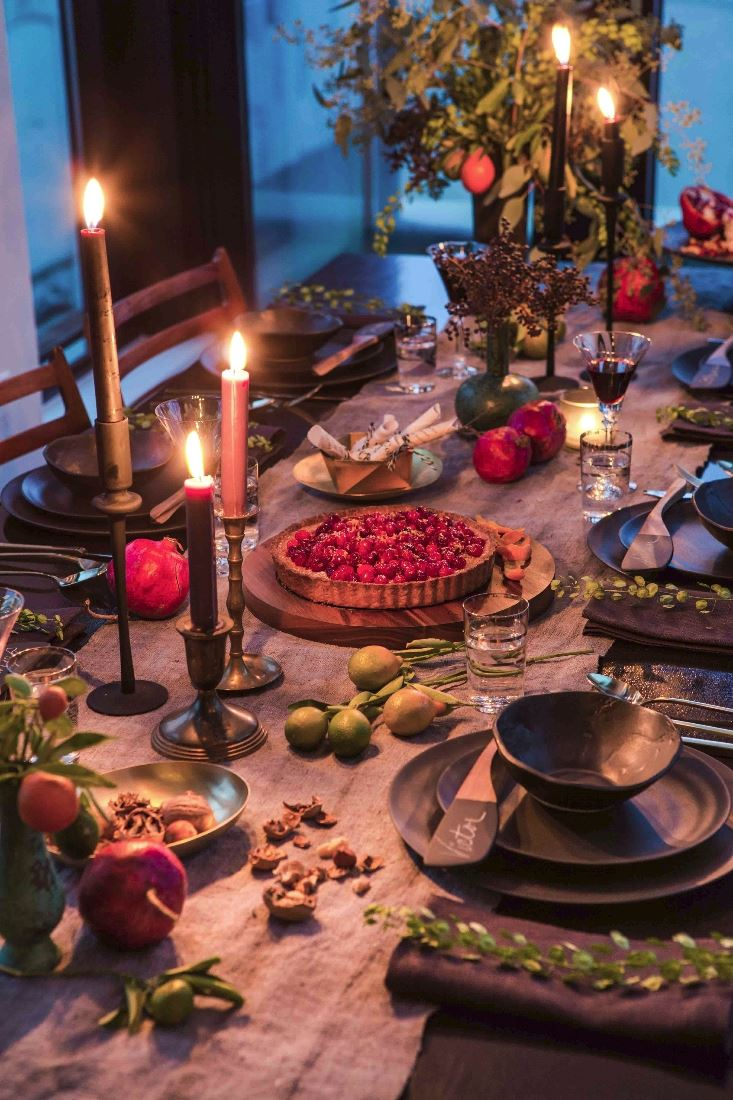 Decadent fall feast by Athena Calderone