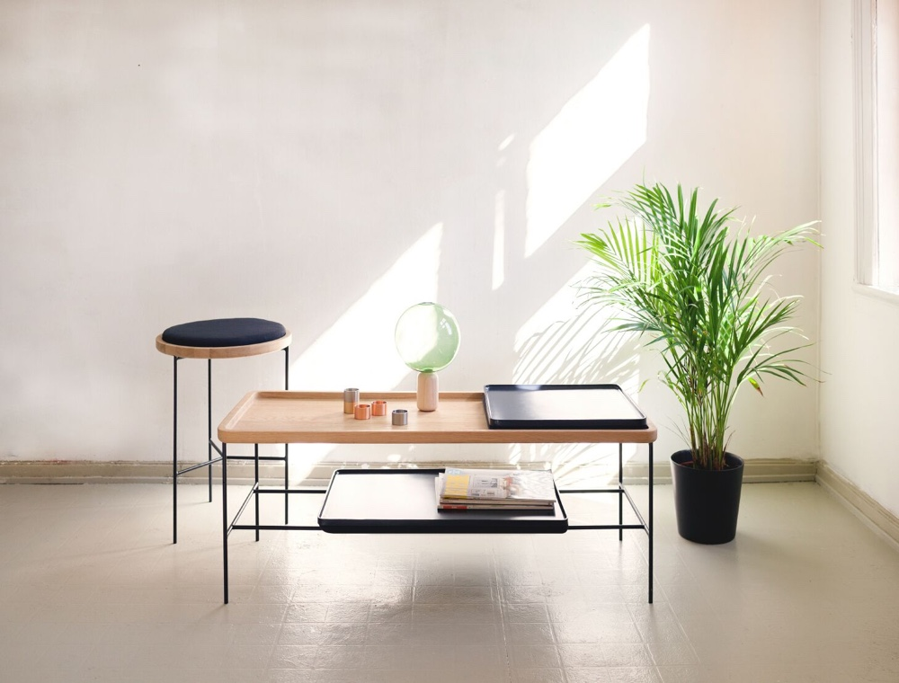 Duple table and side table