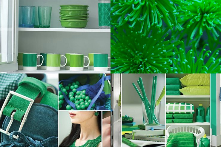 Emerald was Pantone's Color of the Year for 2013