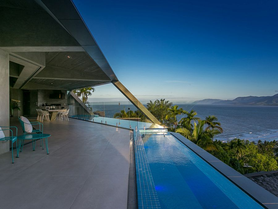 Enjoy the view and sunshine as you soak in the relaxing pool