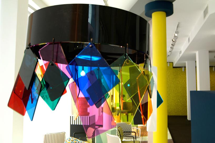 Ettore Sottsass-designed lamp