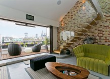Exposed-brick-work-adds-both-color-and-texture-to-the-modern-interior-217x155