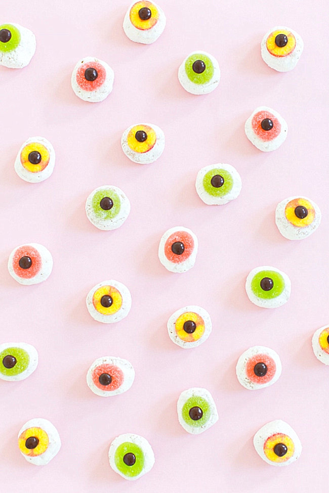 Eyeball donuts from Sugar & Cloth