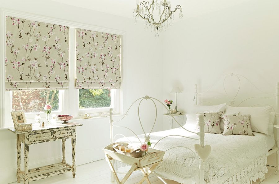 Fall in love with white all over again thanks to shabby chic! [Design: Hillarys]