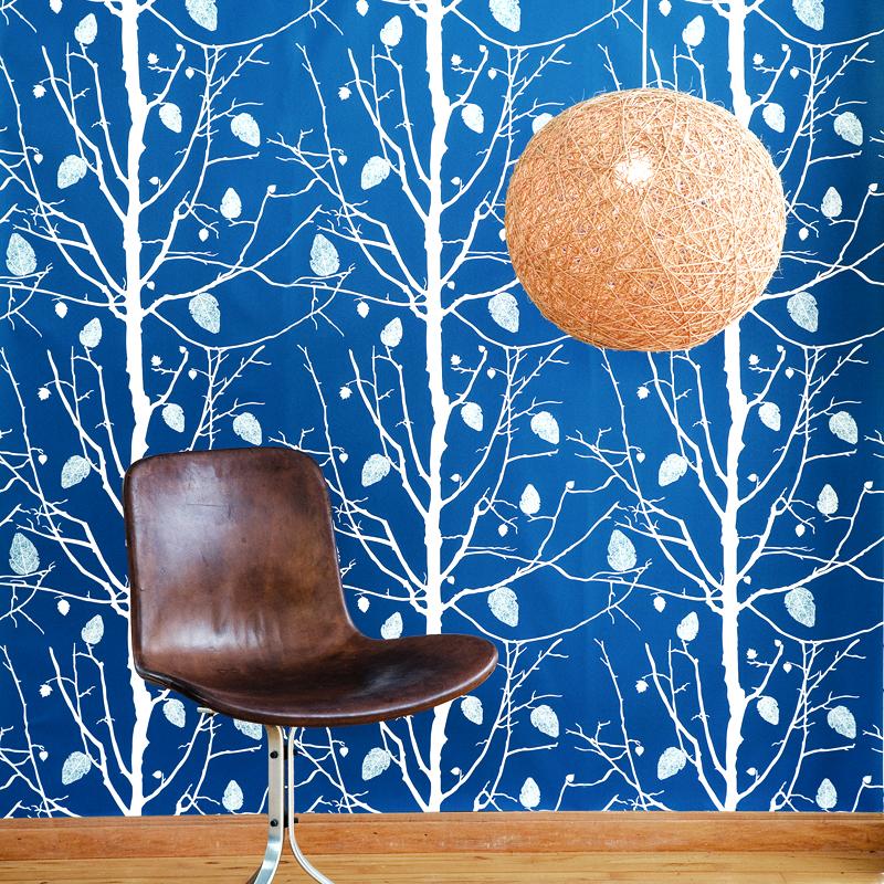 15 tasteful wallpapers inspired by nature. Black Bedroom Furniture Sets. Home Design Ideas