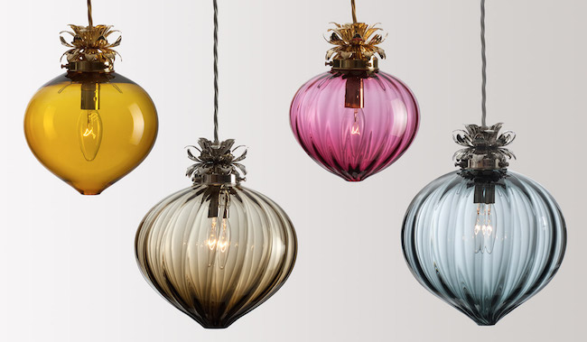 Flora pendants by Rothschild & Bickers
