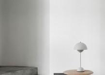 Flowerpot Table Lamp VP3 by Verner Panton