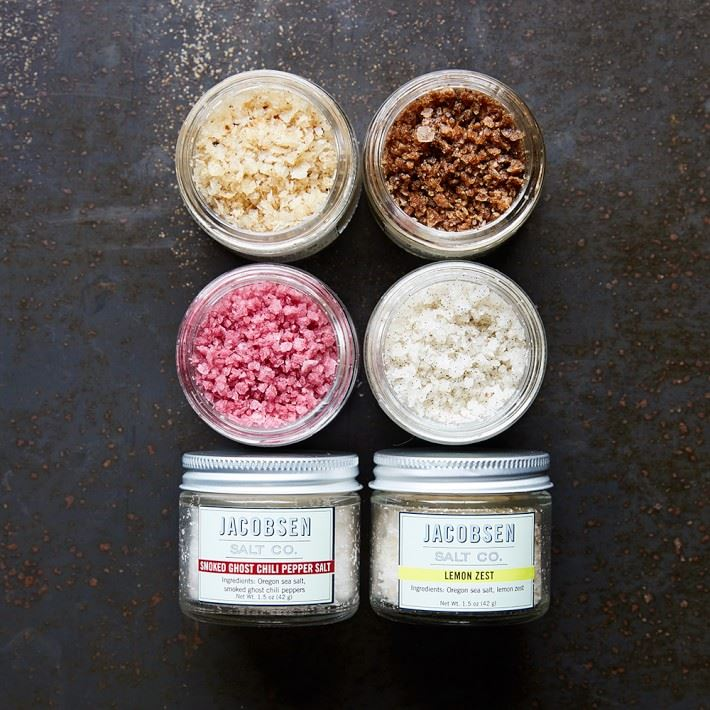 Foodie salts from Williams-Sonoma