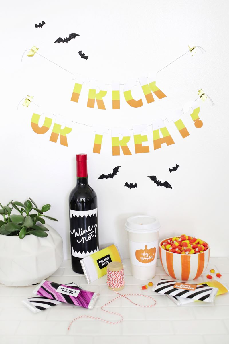Free Halloween printables from A Beautiful Mess