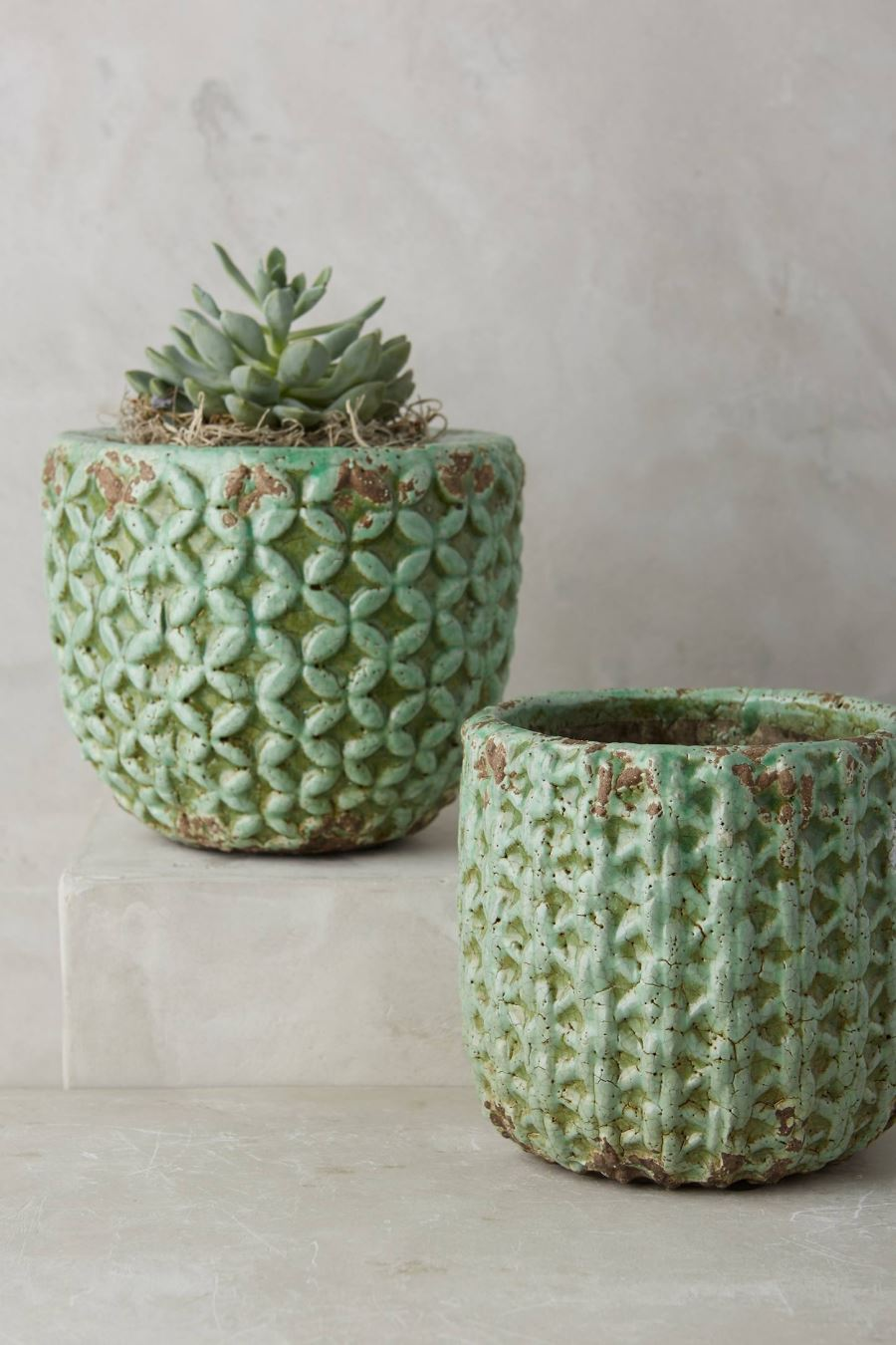 Garden pots from Anthropologie