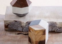 Geo objects from West Elm