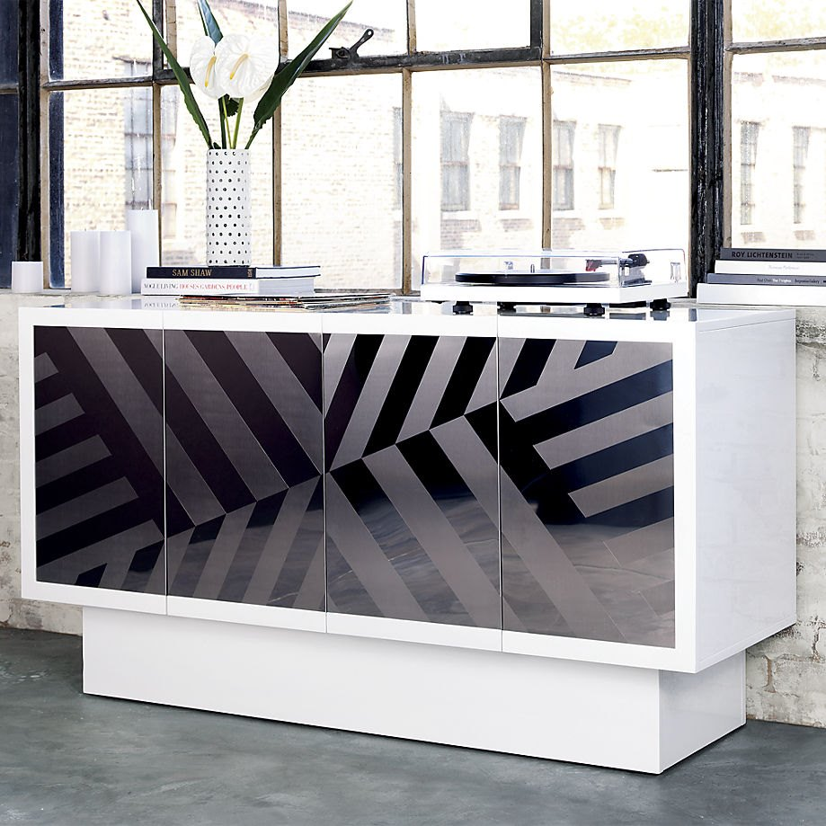 Glamorous console from Kravitz Design and CB2