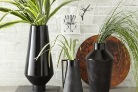 Black terracotta vases from West Elm  A Fall Checklist for Design Lovers Glass terracotta vases from West Elm