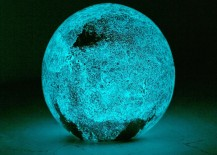 Glow-in-the-dark glass moon from Urban Outfitters