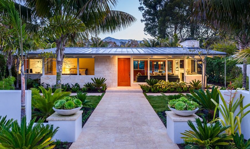 Butterfly Beach Villa: 50s Ranch-Style Home Goes Midcentury Modern with Flair