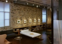 The Exposed Brick Wall Offers A Lovely And Vibrant Backdrop That Lets You Showcase Your Cherished Art Collection Or Favorite Set Of Family Photographs
