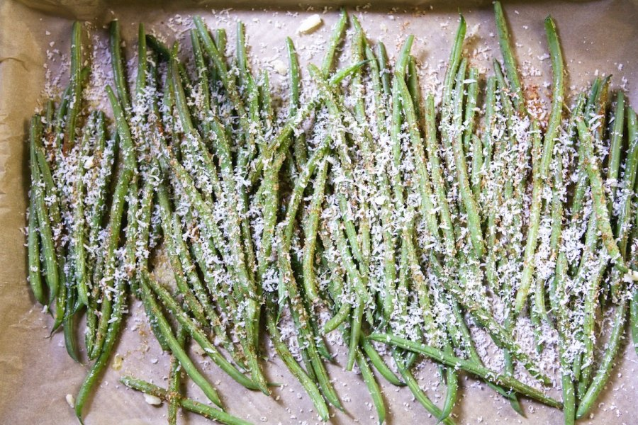Green bean fries from Camille Styles