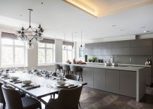 Grey-kitchen-cabinets-and-island-bring-refinement-to-the-contemporary-home-217x155