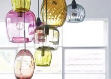 Handblown glass pendant lights by Mark Douglass 217x155 15 Blown Glass Pendant Lighting Ideas for a Modern and Sleek Glow